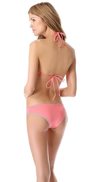 L*Space Brasilia Audrey Fringe Bikini Top