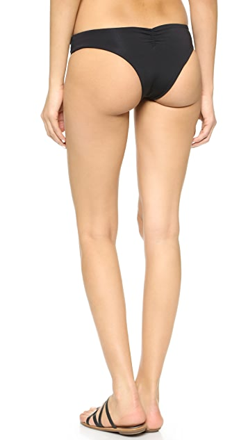 L*Space Sensual Solids Monique Bikini Bottoms
