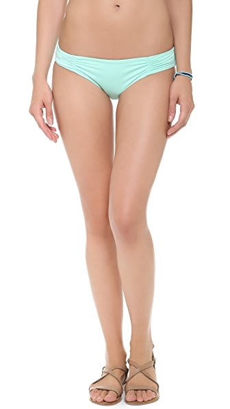 L*Space Sensual Solids Monique Bikini Bottoms