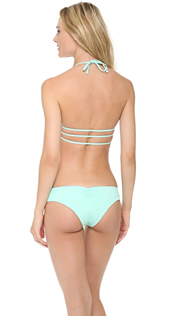 L*Space Sweet & Chic Solids Strap Bikini Top