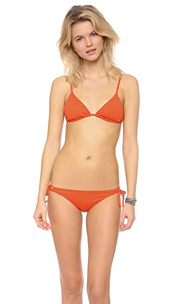 L*Space Sensual Solids Cece Bikini Top