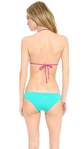 L*Space BFF Halter Bikini Top