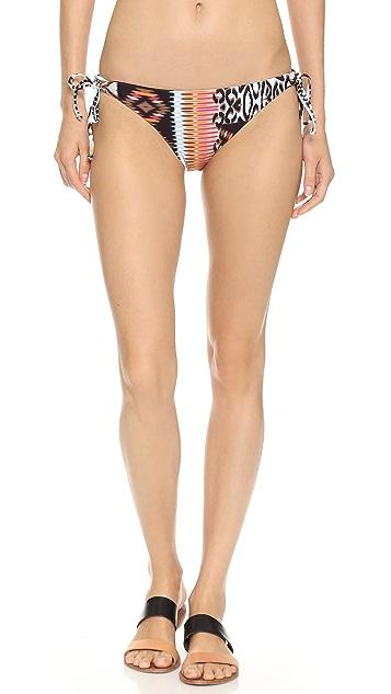L*Space Wild & Free Dandy Reversible Bikini Bottoms