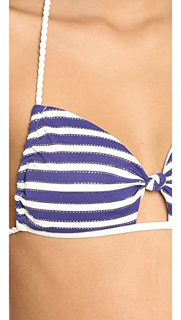 L*Space Rock the Boat BFF Halter Bikini Top