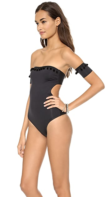 L*Space Congo Pool Party One Piece Swimsuit