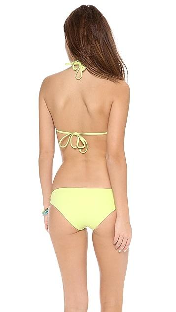 L*Space Twister Bikini Top