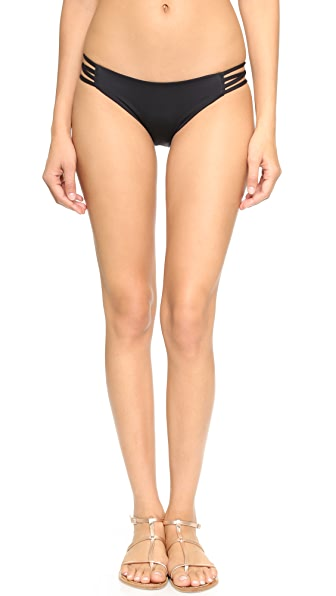 L*Space Low Down Bikini Bottoms - Black
