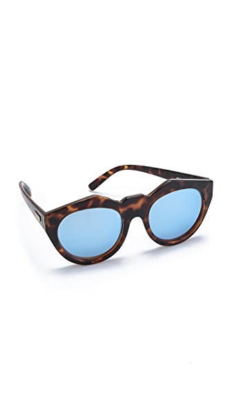 Le Specs Neo Noir Sunglasses at Shopbop