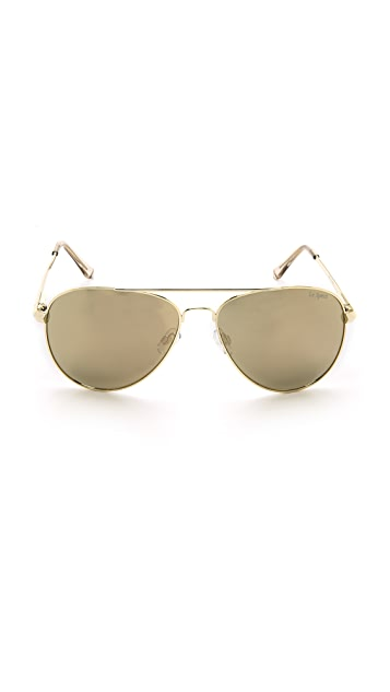 Le Specs Drop Top Sunglasses
