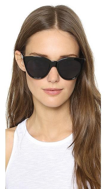 Le Specs Half Moon Magic Sunglasses