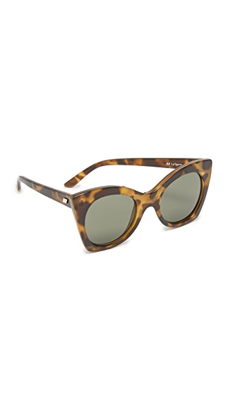 Le Specs Savanna Sunglasses - Tort/Khaki Mono