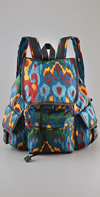 LeSportsac Ikat Voyager Backpack