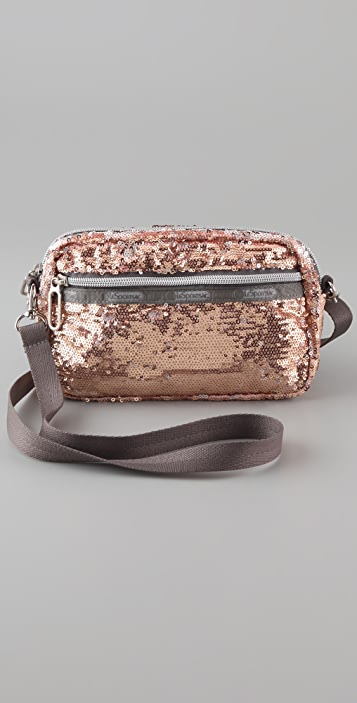 LeSportsac Sequined Small Cross Body Bag