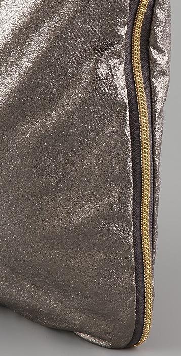 LeSportsac Crackled Zipper Tote