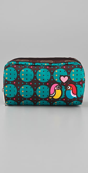 LeSportsac Owl Love Rectangular Cosmetic Case