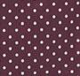 Burgundy Pin Dot