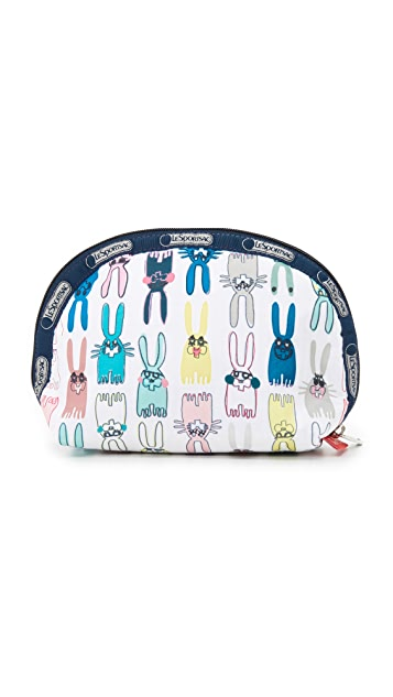 LeSportsac LeSportsac designed by Peter Jensen Medium Dome Cosmetic Pouch