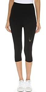 Technical Knit Capri Leggings                Lucas Hugh