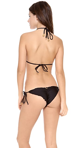Luli Fama Ritmo De Mi Salsa Studded Bikini Top
