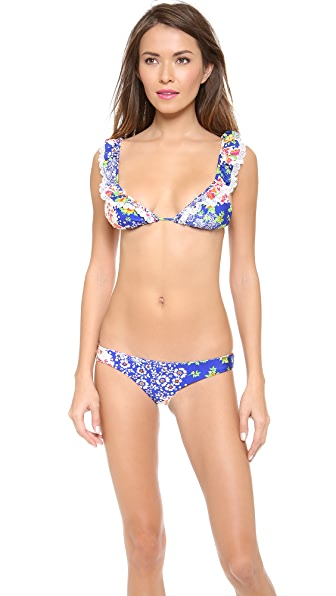 Luli Fama Spanish Lullaby Triangle Bikini Top