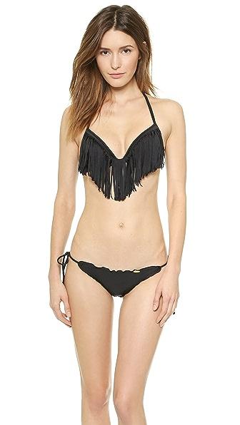 Luli Fama Cosita Buena Fringe Bikini Top