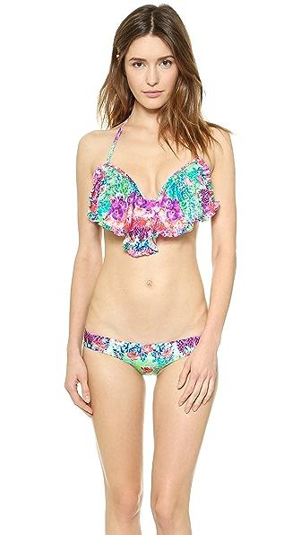 Luli Fama Pequeno Paraiso Cascade Bikini Top