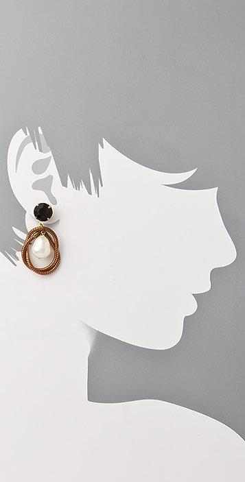 Lulu Frost Knot Teardrop Earrings