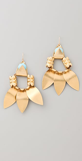 Lulu Frost Triple Pipeline Earrings