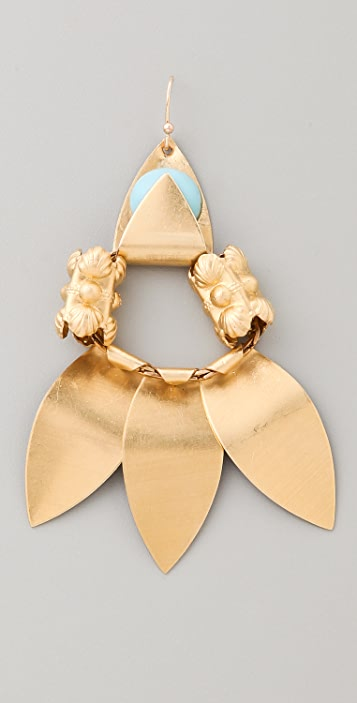 Lulu Frost Triple Pipeline Earrings