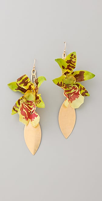Lulu Frost Orchid Earrings