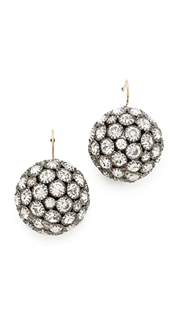 Lulu Frost Deco Ball Earrings