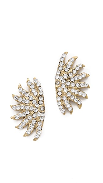 Lulu Frost Sunburst Stud Earrings