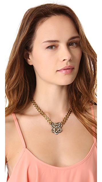 Lulu Frost Crest Necklace