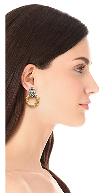Lulu Frost Lunar Earrings