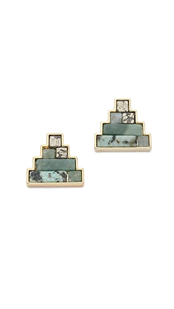 Lulu Frost Ortigia Stud Earrings