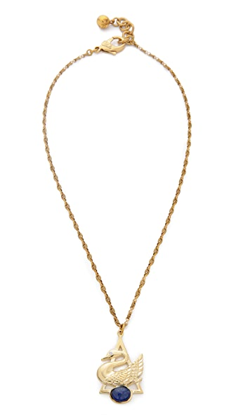 Lulu Frost Lake Charm Necklace