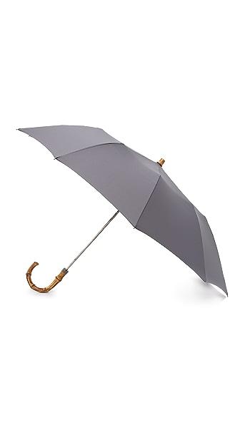 London Undercover Telescopic Umbrella with Whangee Handle