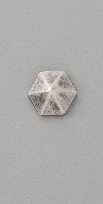 Luv Aj Pyramid Stud Post Earrings