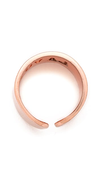 Luv Aj Tall Plain Ring