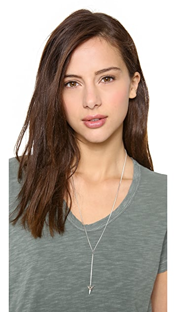 Luv Aj The Shark Tooth Rosary Necklace