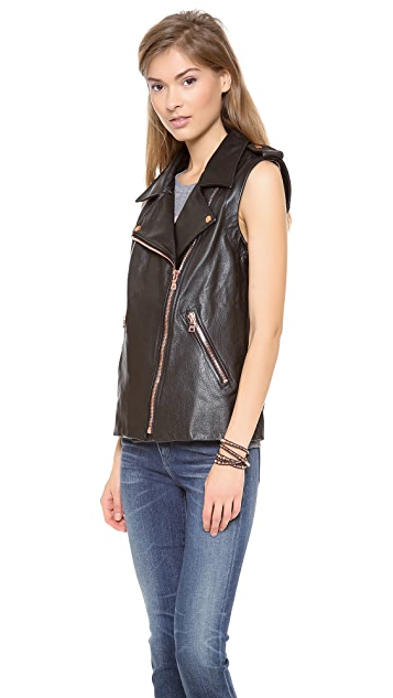 Luv Aj The Moto Jacket / Vest