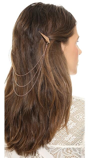 Luv Aj Spike Chain Hair Piece
