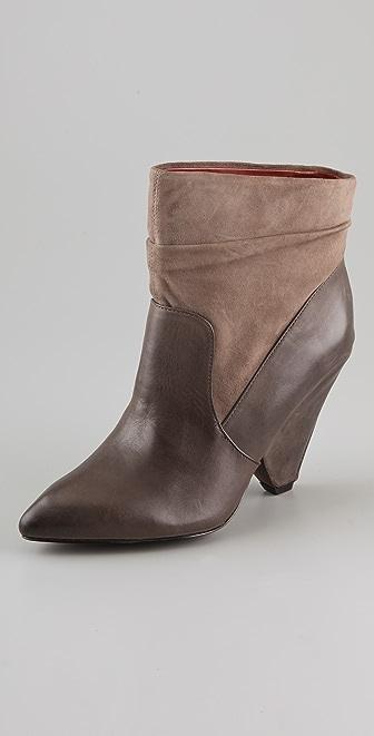 Luxury Rebel Shoes Yuma Wedge Booties