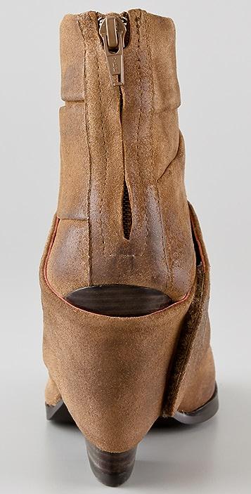 Luxury Rebel Shoes Amy Banded Booties