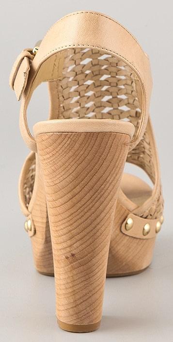 Luxury Rebel Shoes Queen Platform Sandals