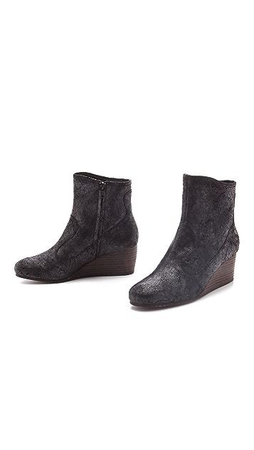 Luxury Rebel Shoes Tracey Wedge Booties