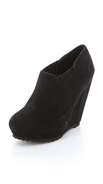 Luxury Rebel Shoes Kera Wedge Booties