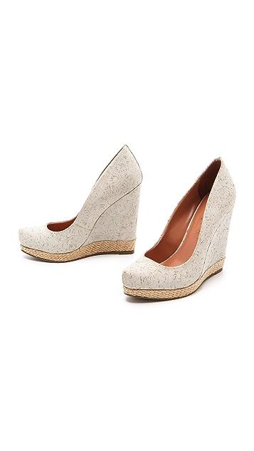 Luxury Rebel Shoes Syri Cork Wedges