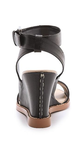 Luxury Rebel Shoes Harlow Wedge Sandals