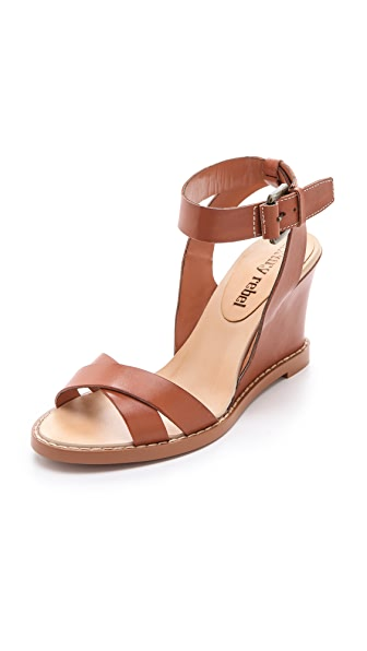 Luxury Rebel Shoes Harlow Wedge Sandals